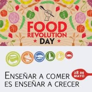 Food Revolution Day y Día de la Nutrición.